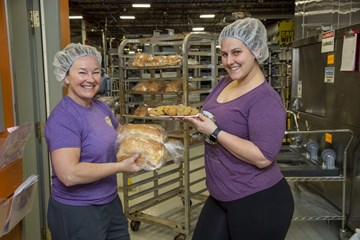 Dog biscuit maker turns to bread to keep cooking amid province's non-essential shutdown