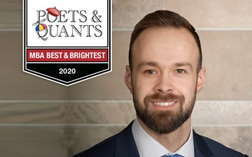 Poets & Quants 2020 Best & Brightest: Riley Love, MBA '20