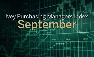 Ivey PMI higher than expected for September