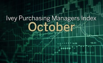 Ivey PMI falls in October