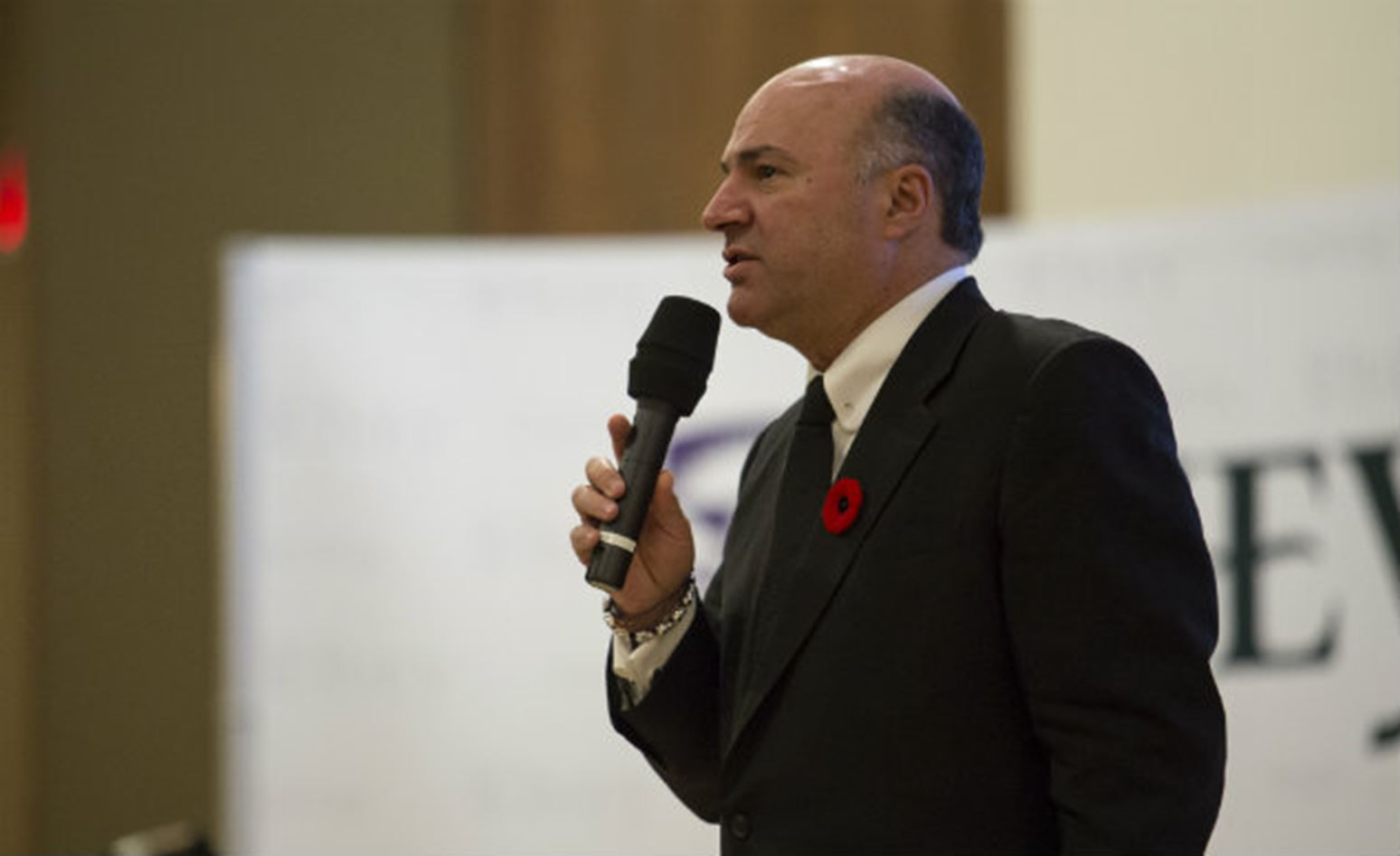 Kevin O'Leary shares entrepreneurial lessons from Shark Tank