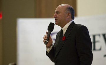 Kevin O'Leary|Sharing entrepreneurial lessons from Shark Tank