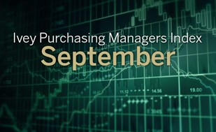 Ivey PMI falls in September