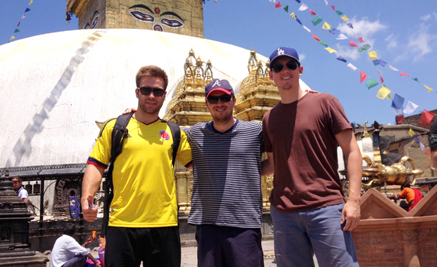 Giving back to the global community: MSc student travels to Nepal