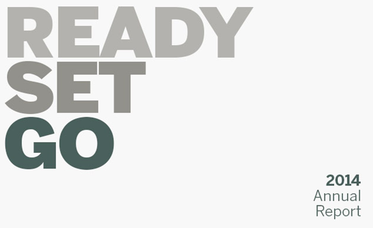 Ivey's 2014 Annual Report | Ready Set Go