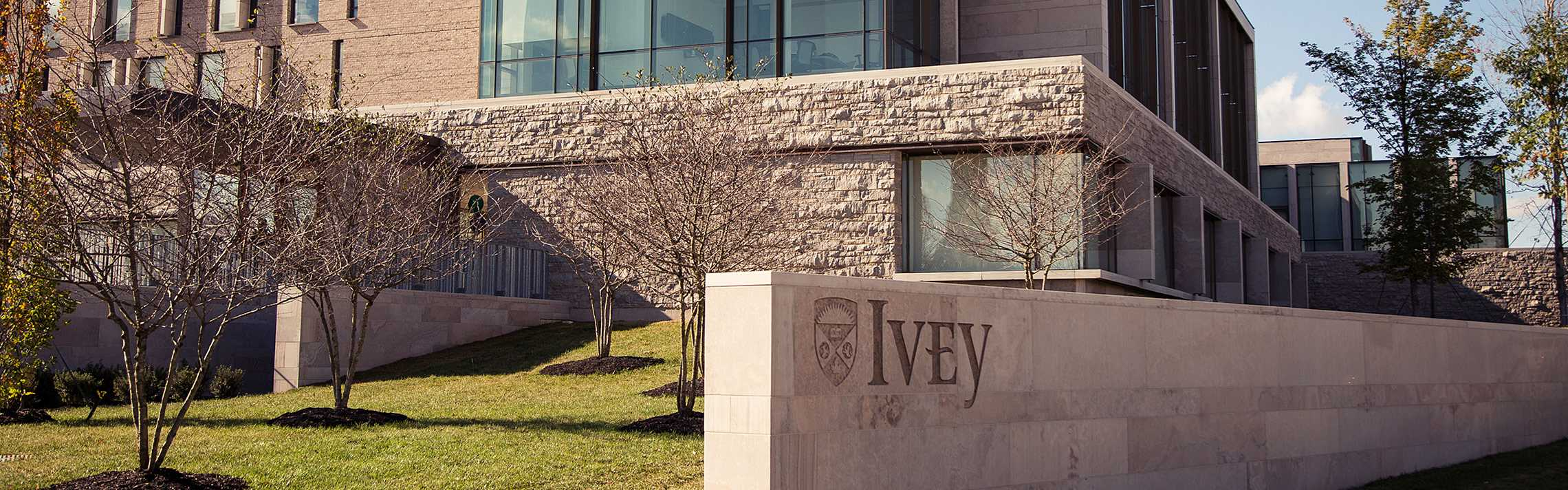 The Ivey Business School building at Western University