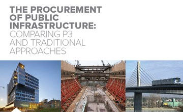 New Study argues P3 Incentives and Accountability Key to Maximizing Infrastructure Value for Money