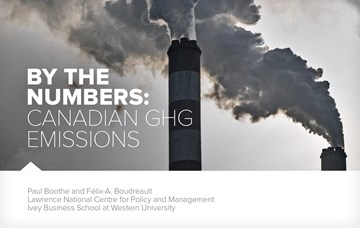 By the Numbers: Canadian GHG Emissions