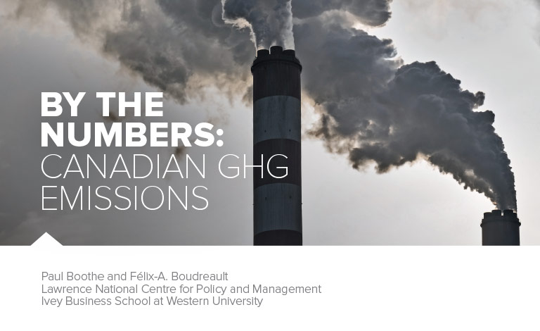 What you need to know about Canada's greenhouse gas emissions