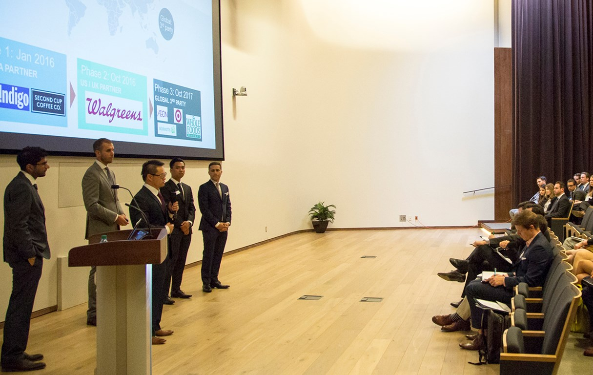 Making the case – in just five hours:  Students test their mettle in Accenture Strategy MBA Case Competition
