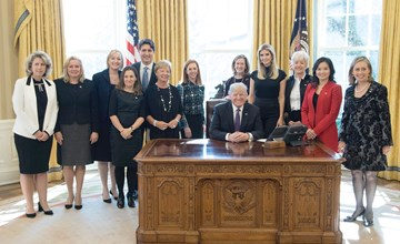 Ivey at White House roundtable on women in the workforce