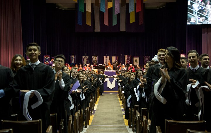 Convocation for the MSc, MBA, and EMBA Classes of 2017 - Livestream link