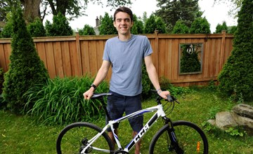 Ivey student biking to raise funds for Syrian family