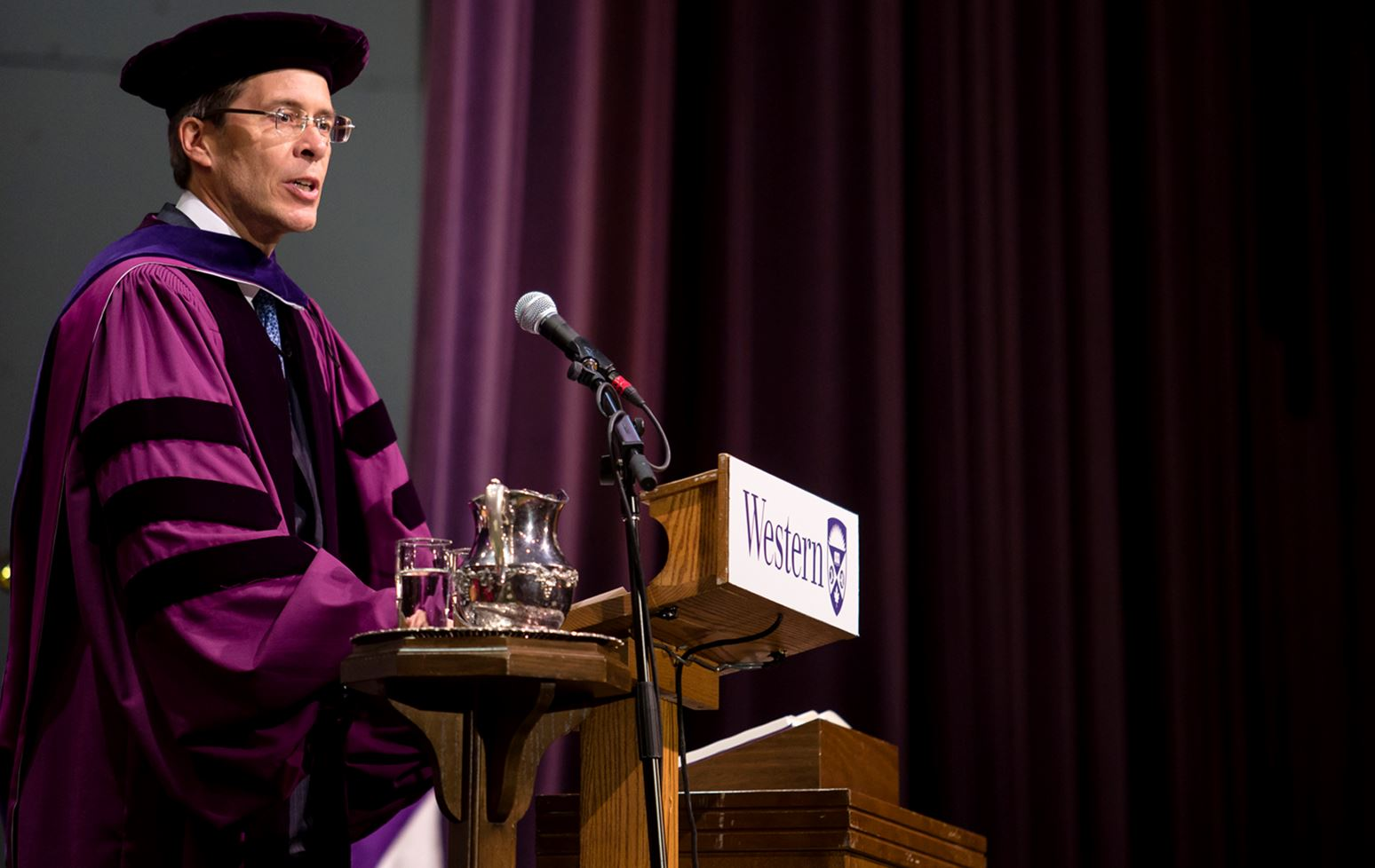Values matter, says honorary degree recipient Jeff Orr