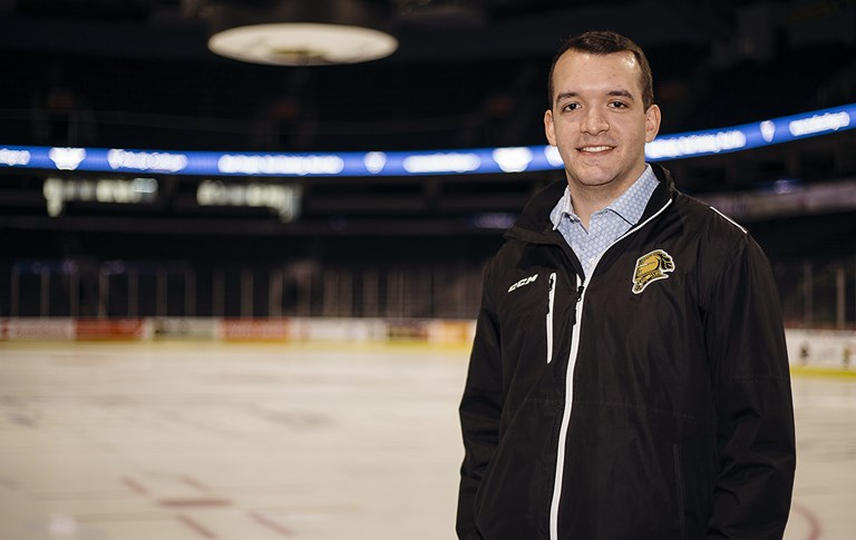 Ivey's Ice Age: Alumni are making a difference in hockey