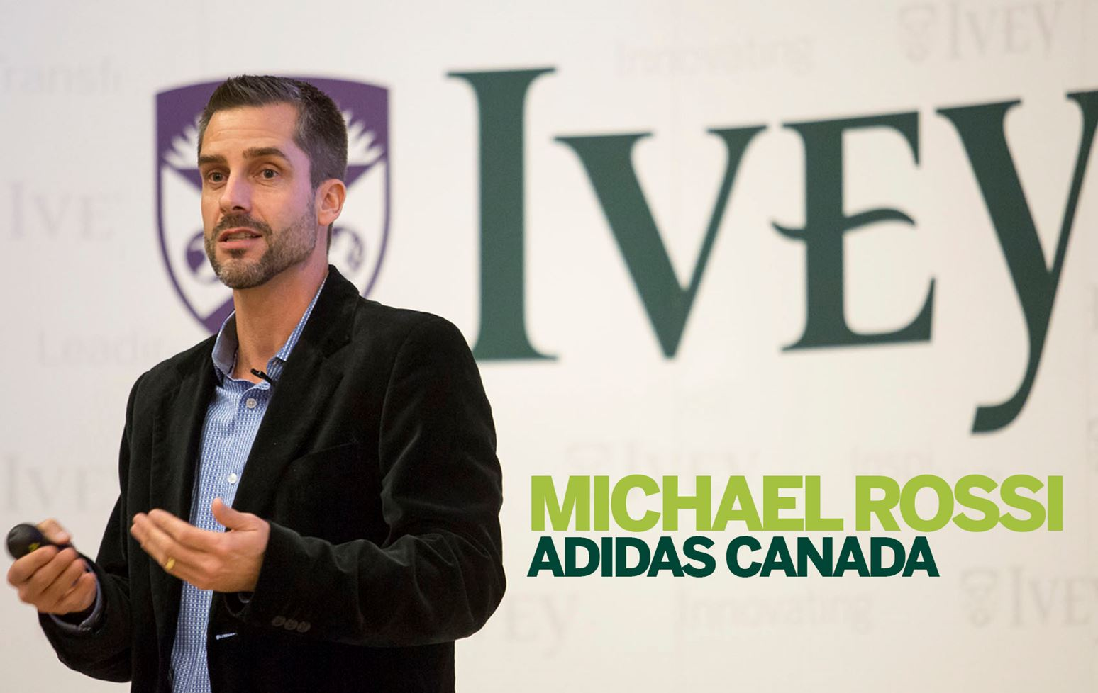 Michael Rossi, HBA '98: Value the small things in life