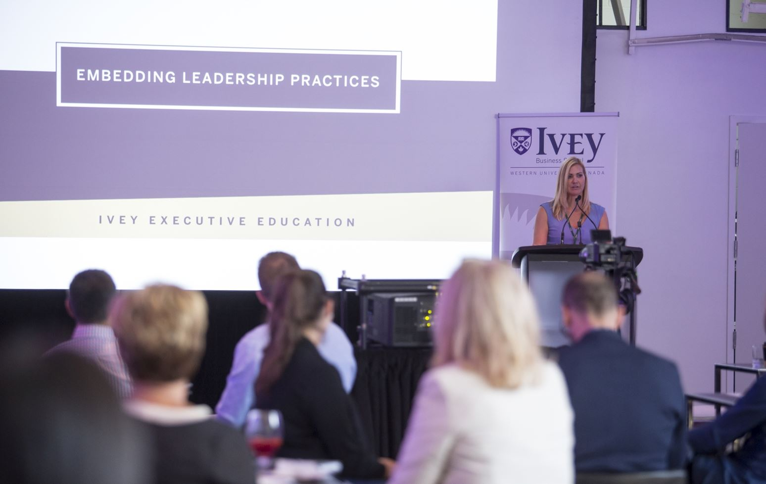 Ivey Executive Education hosts inaugural alumni event