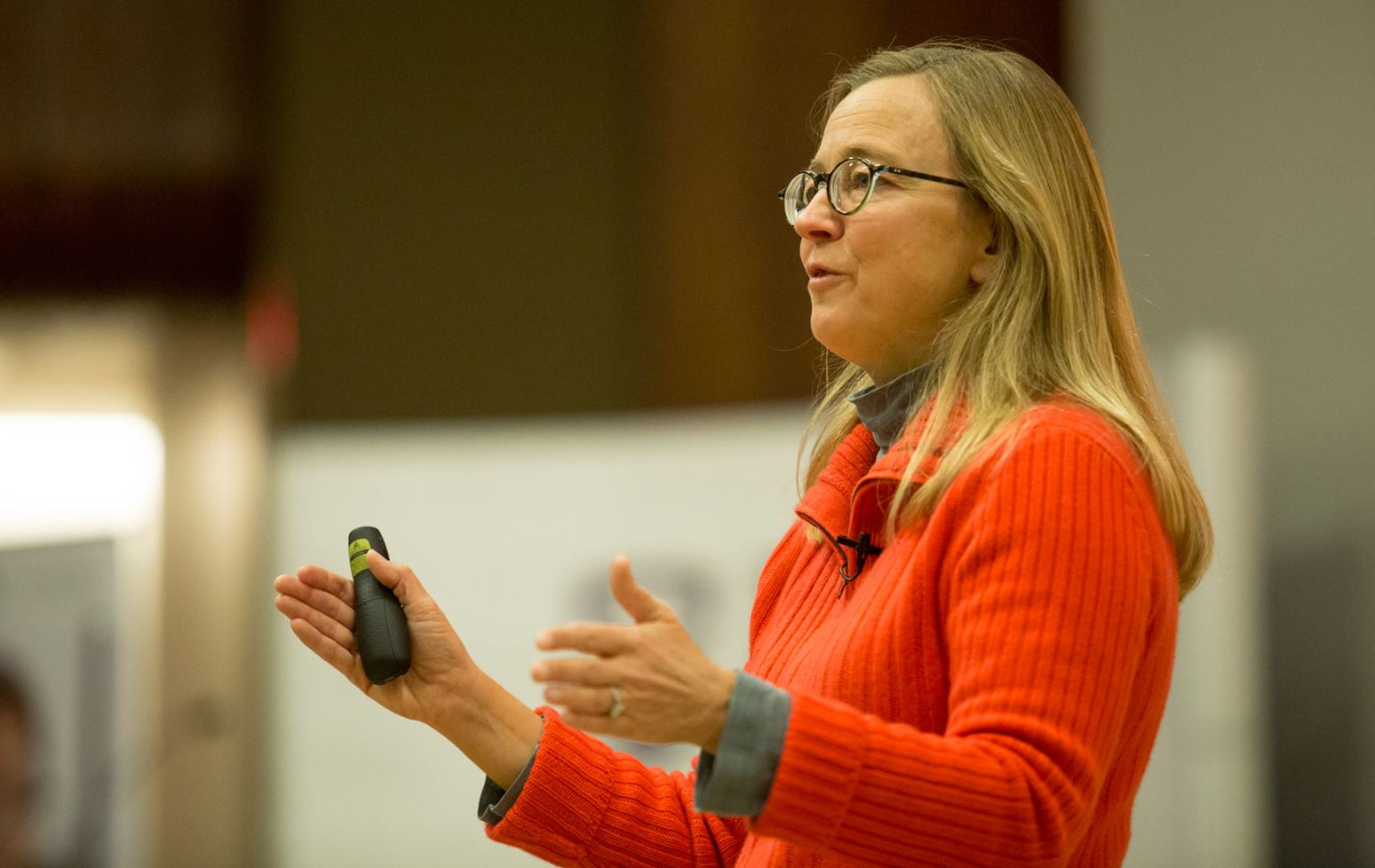 Speakers challenge HBA students to redefine success