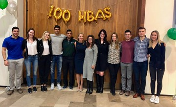 100 HBAs Who Care: Students raise money for three London charities