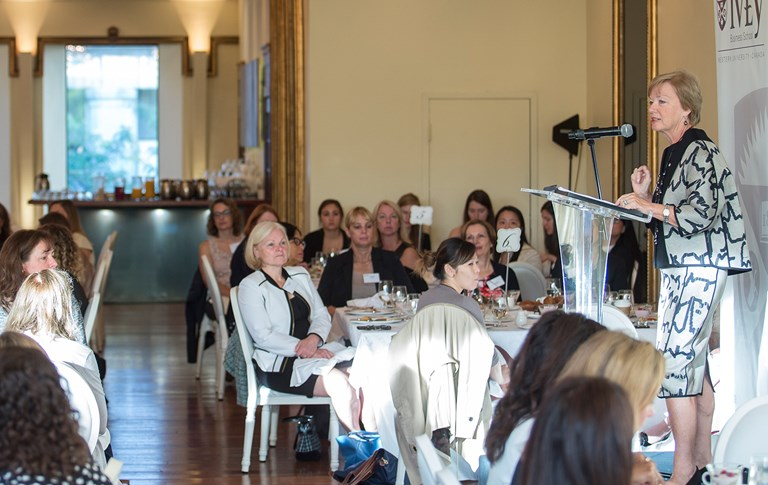 The Women of Ivey Network Inaugural Breakfast
