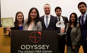 Ivey students win global MBA competition