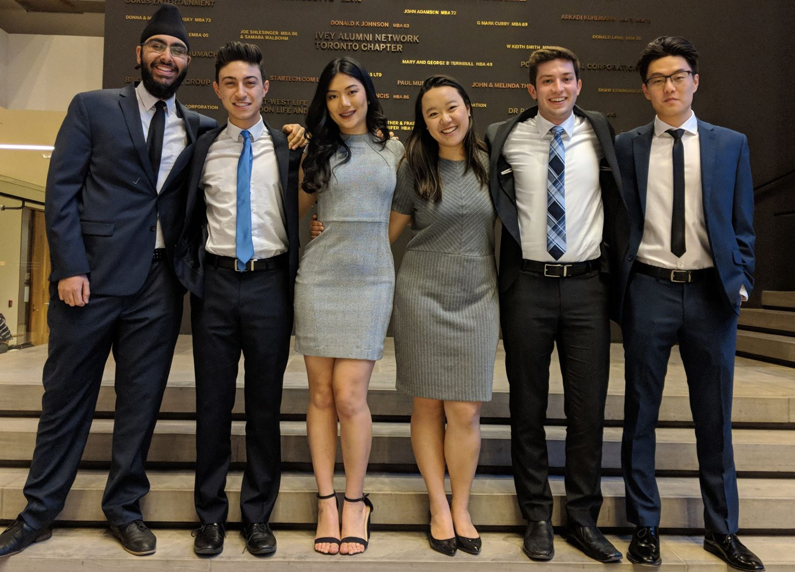 Western students celebrate 40th anniversary of case competition