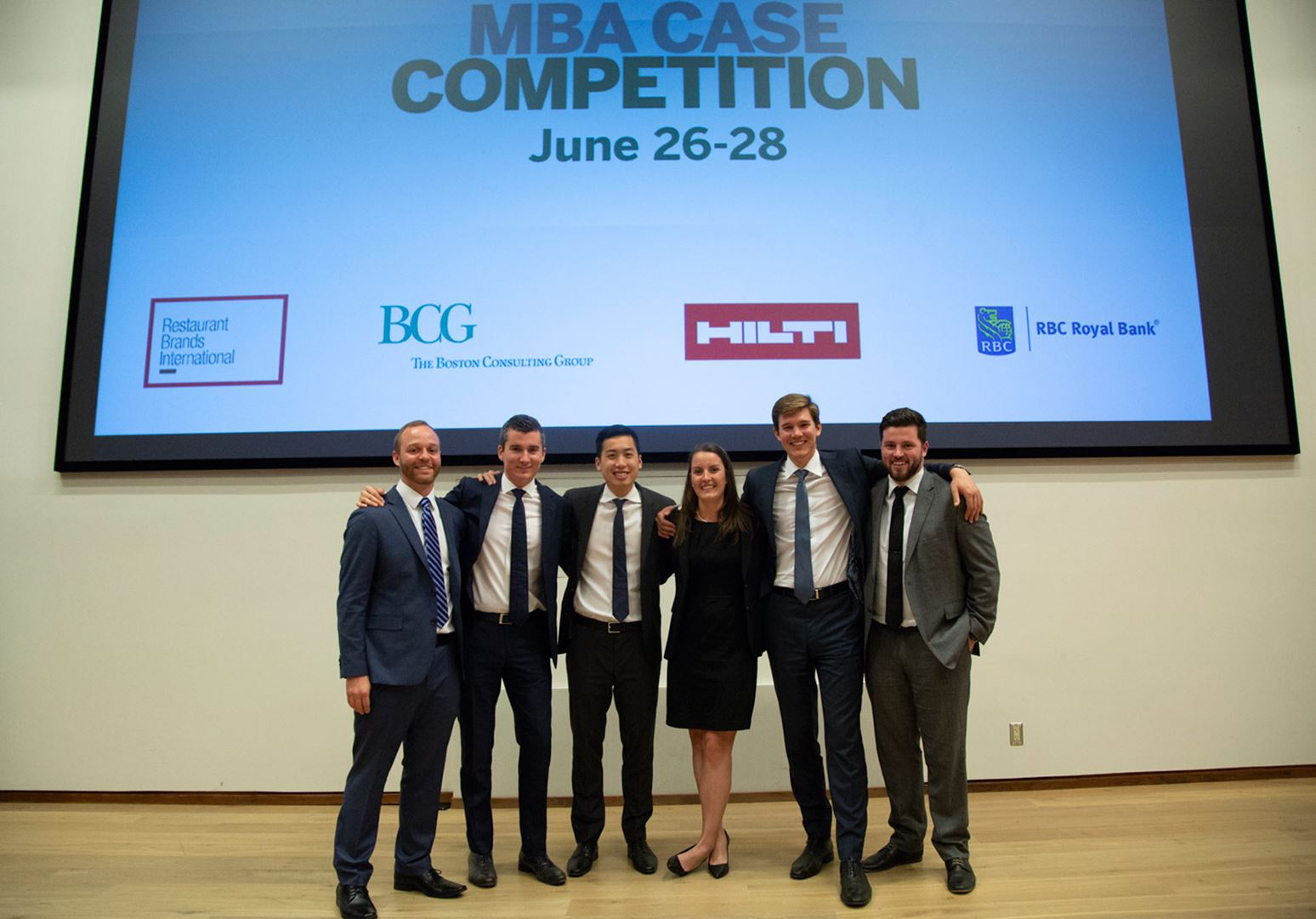 In it to win it: The 2018 MBA Case Competition