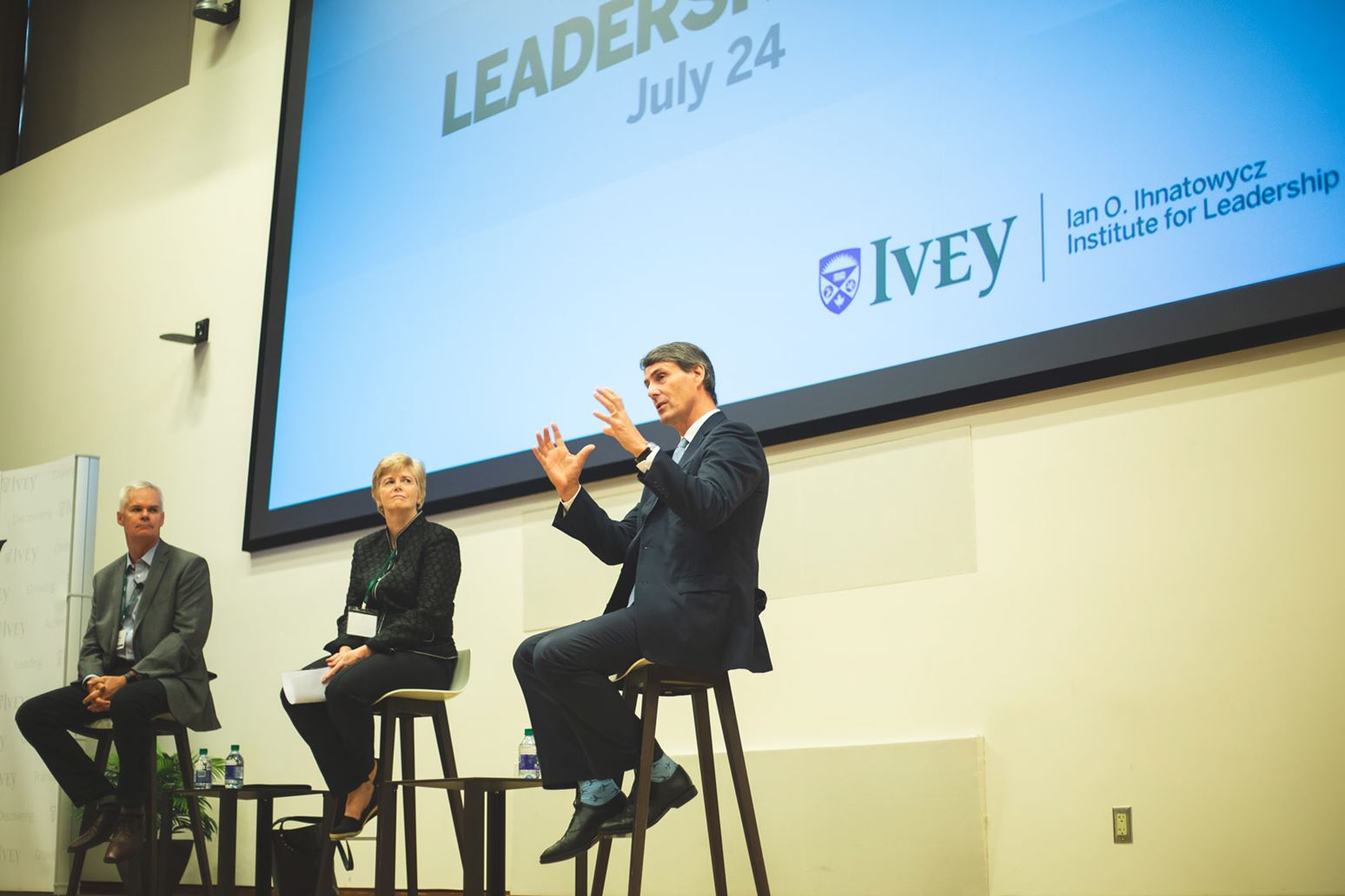 Lessons in leadership from MBA Leadership Day