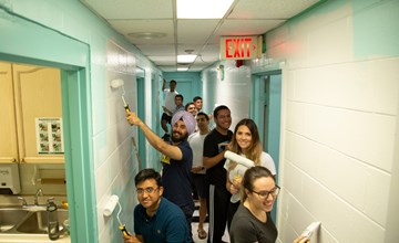 MBA students give back for Impact Day