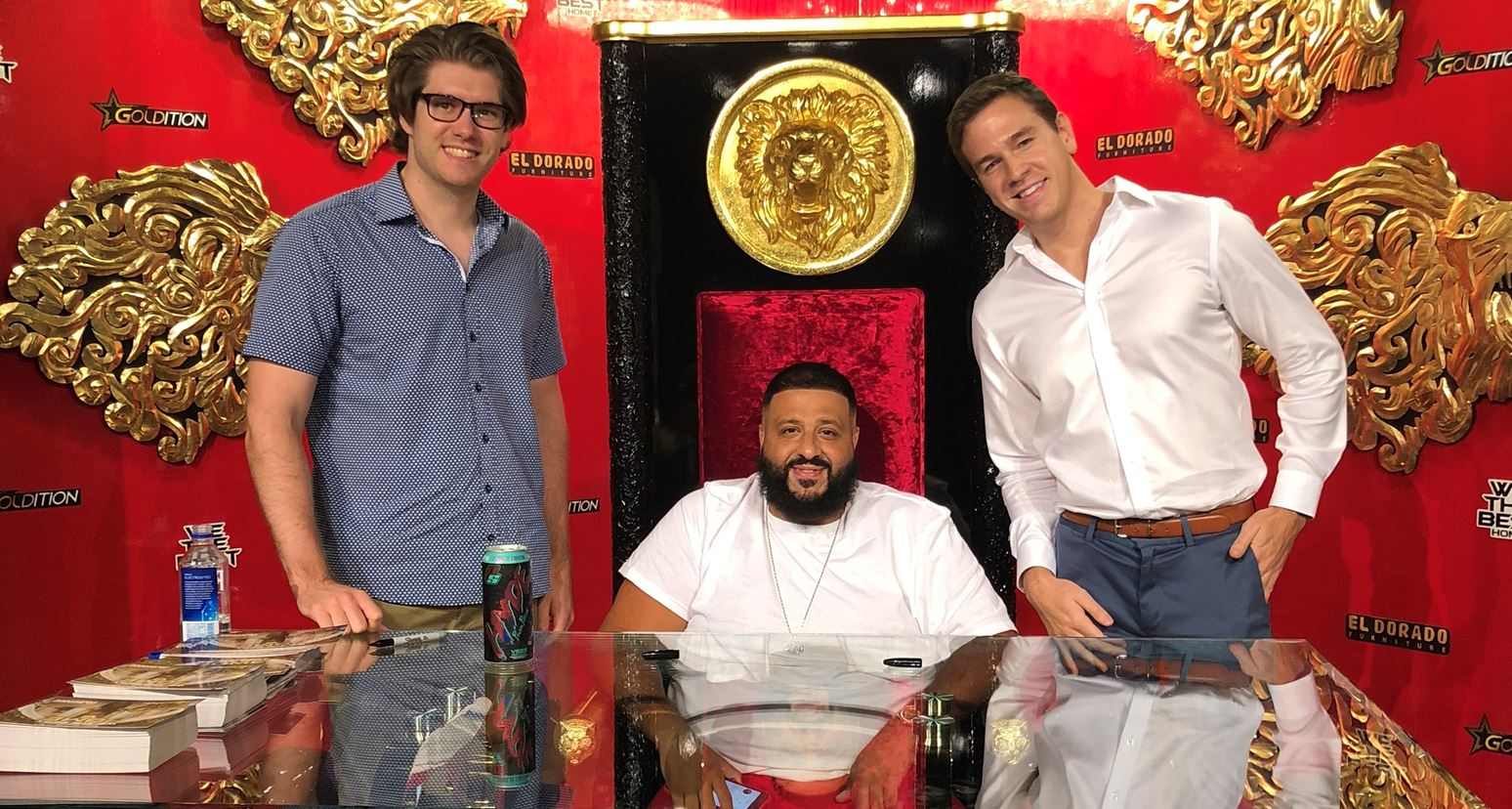 Golden lions and thrones? Ivey's Ryan Ward-Williams adds DJ Khaled to Ultrabrand's celebrity roster