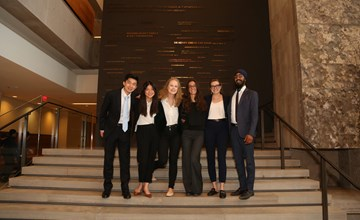 Impressive ideas win MSc Case Competition