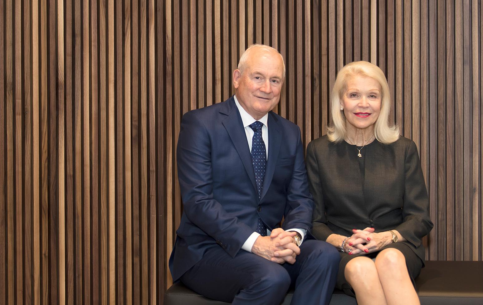 Ivey opens Robert Stuebing Recruiting Centre following $1-million gift