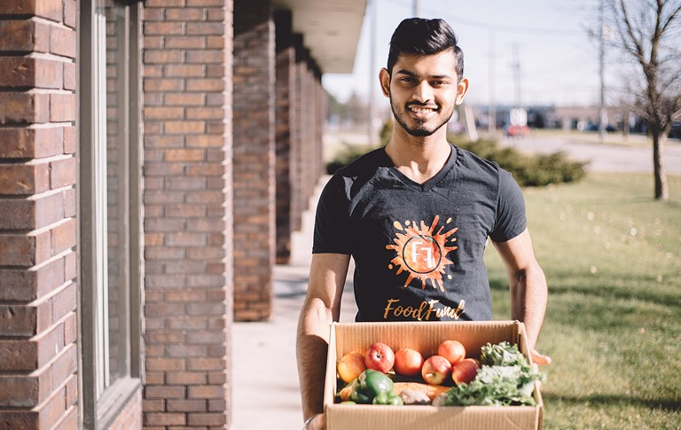 The fruits (and veggies) of labour: Divyansh Ojha, HBA '20