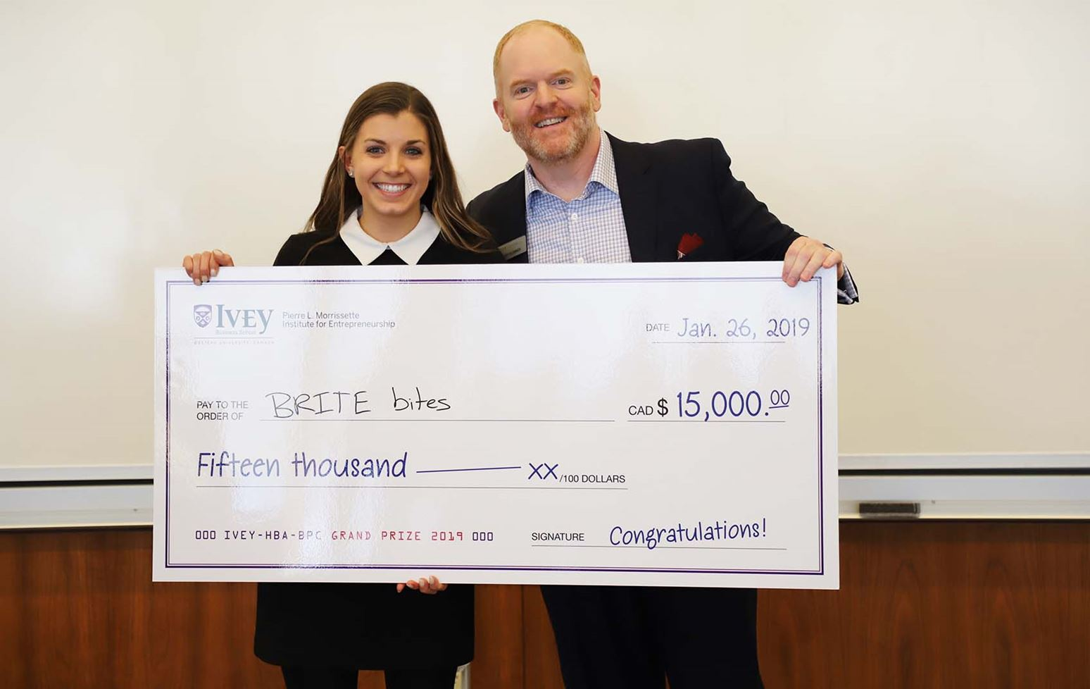 Big ideas: 2019 Ivey Business Plan Competition