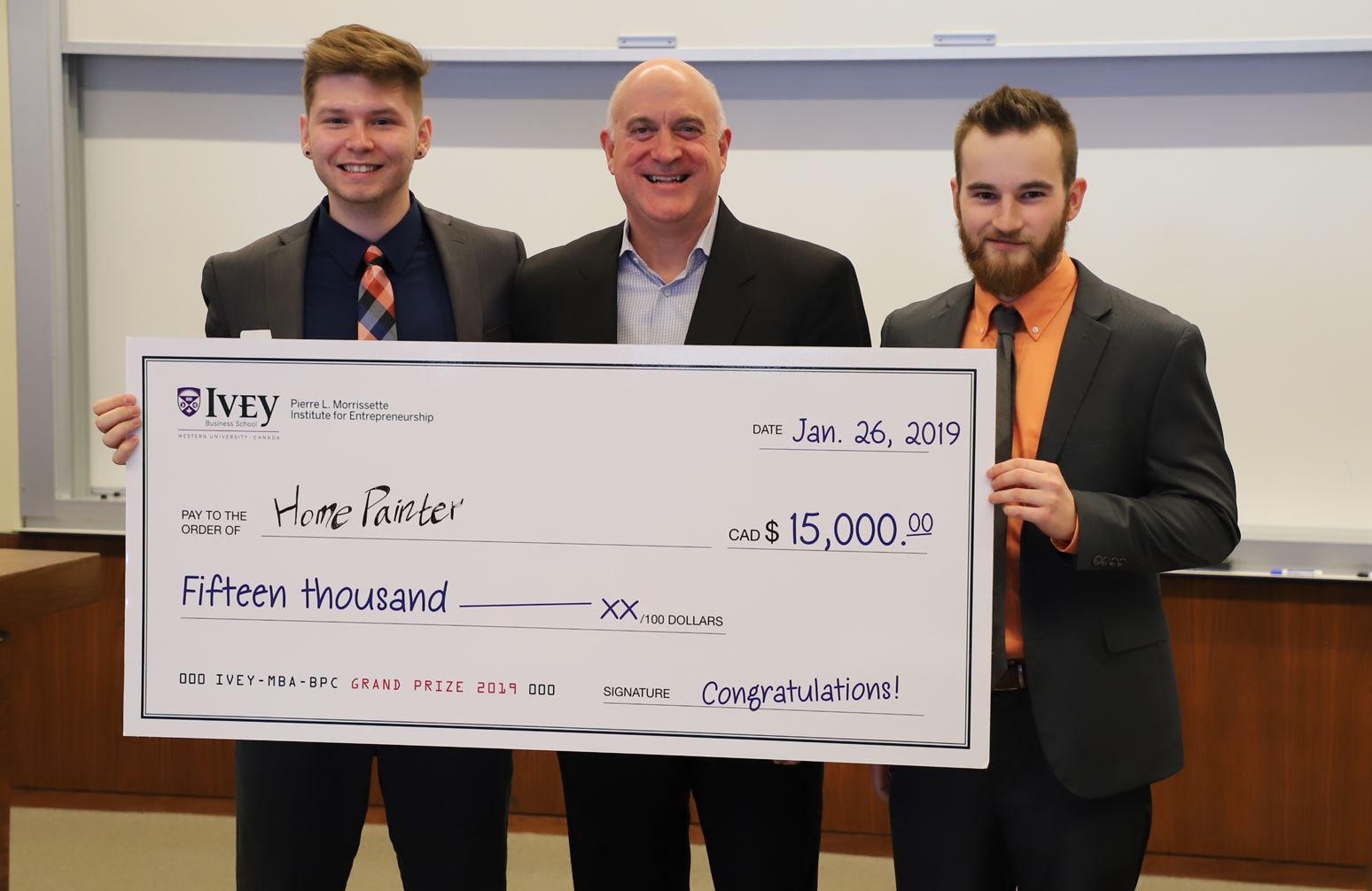 Iowa State University Team takes top prize at Graduate Business Plan Competition