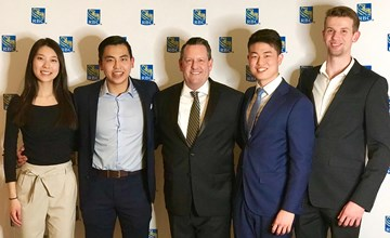Ivey students win University of Windsor case competition