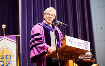 McKay to graduates: You have the foundation to thrive