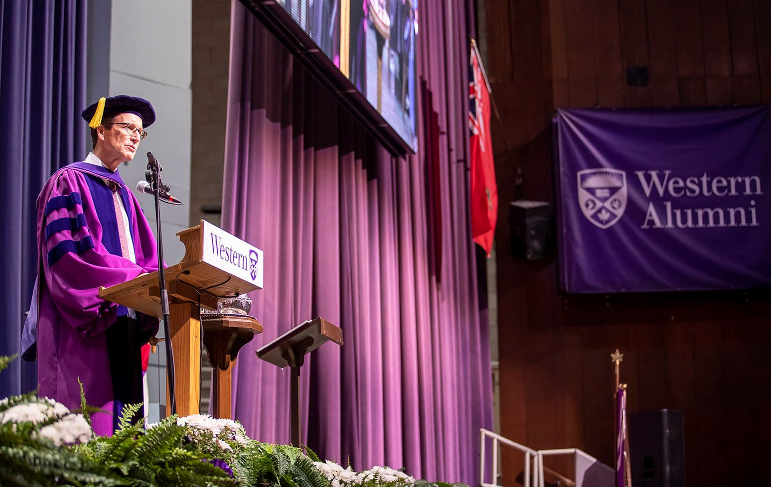 Lang to graduates: You have the power to change the world