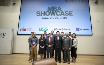 Managing disruptions in the workplace: The 2019 MBA Showcase
