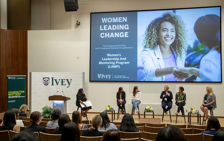 Celebrating and supporting female leaders