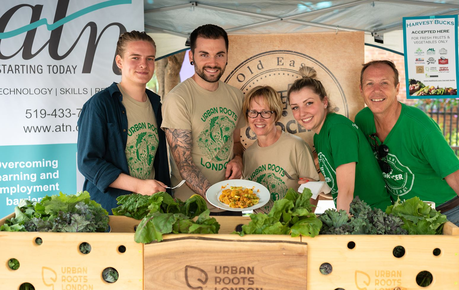 Ivey student's organic urban farm partners with local grocer