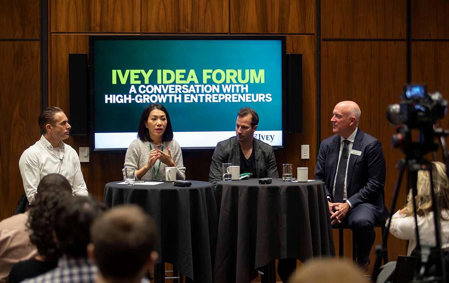 A conversation with high-growth entrepreneurs