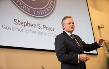 Governor Poloz outlines role of monetary policy during pandemic to Ivey MBA students