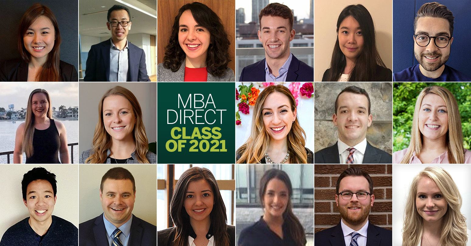 Welcome to the MBA Direct Class of 2021