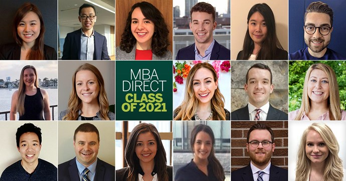 MBA Direct Class Of 2021 Banner