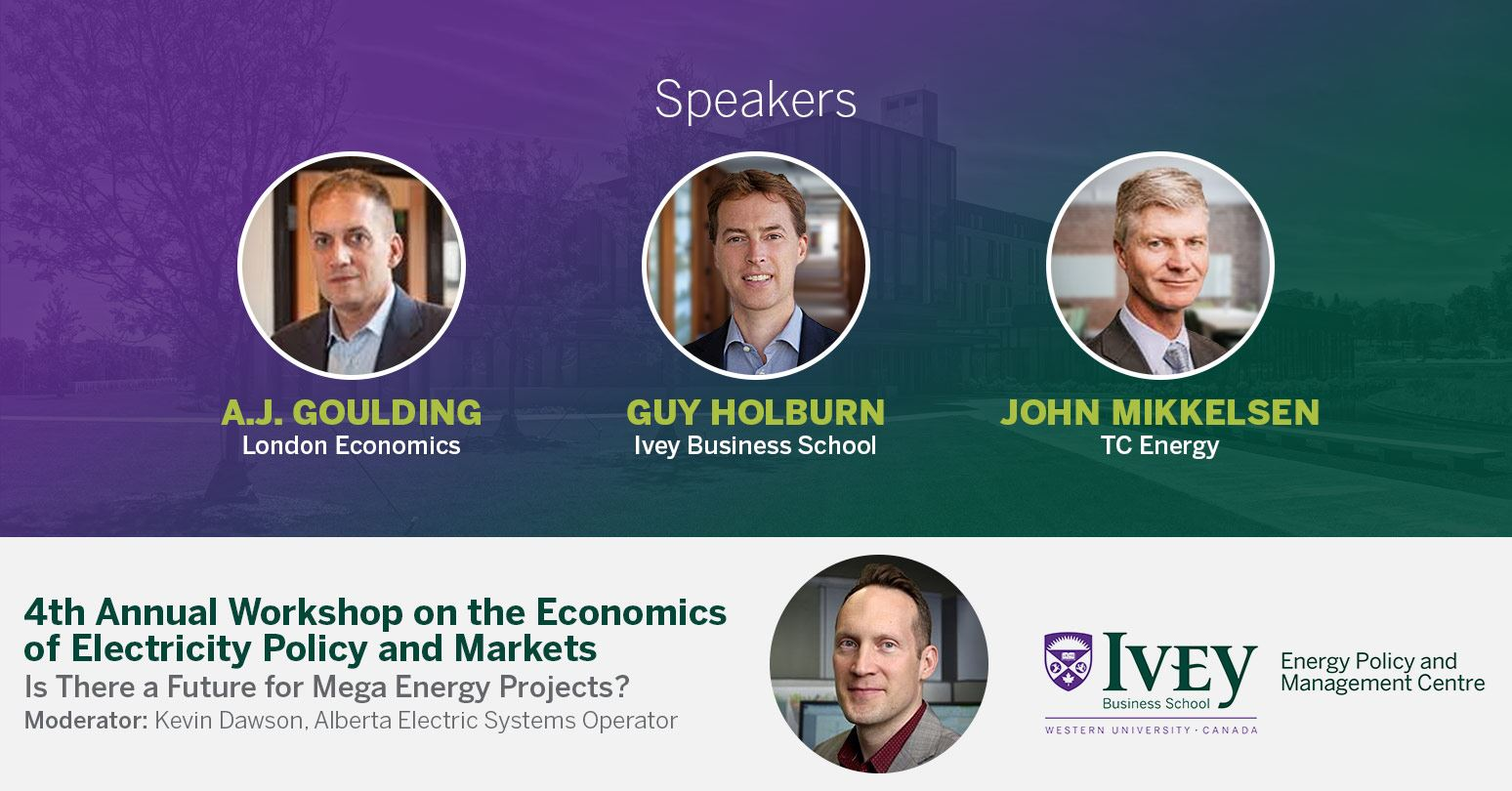 Ivey workshop discusses the future of electricity megaprojects