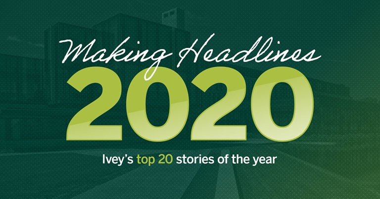 Ivey Headlines: Top stories of 2020