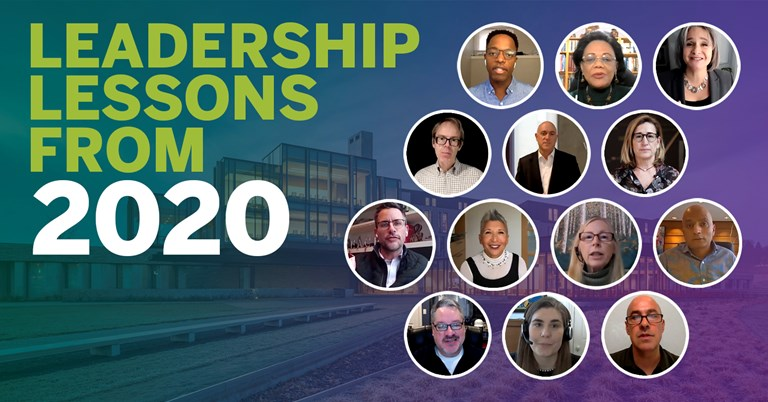 Leadership lessons from 2020 to take into 2021