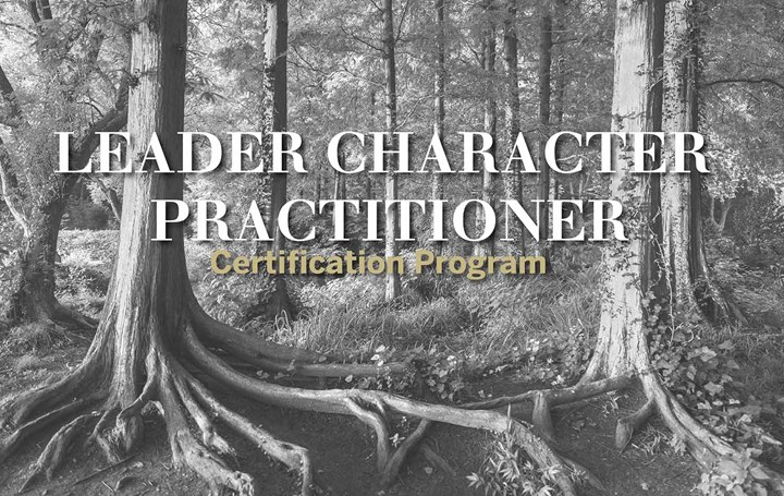 Leader Character Practitioner Certification