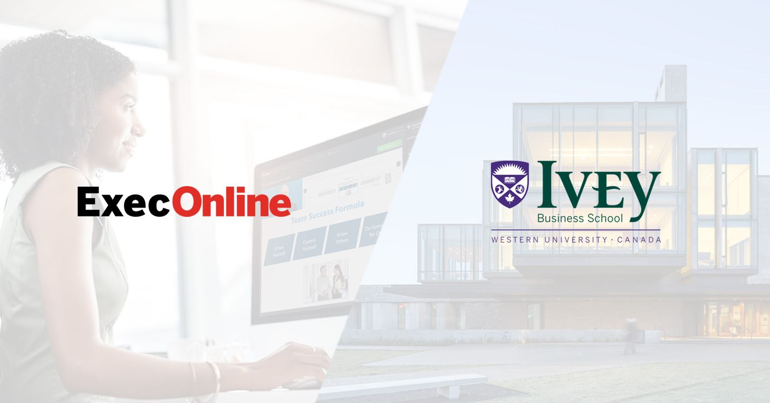 Ivey is only Canadian school to join ExecOnline's online university partnership model